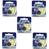 Varta Electronic - Pilas de botón CR 2032 (5 unidades)