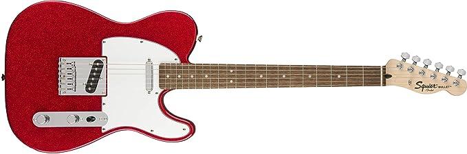 Squier Limited Edition Bullet Telecaster - Guitarra eléctrica: Amazon.es: Instrumentos musicales