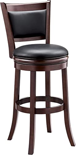 Ball Cast HSA-1102A-2 Swivel bar Height Stool, 29 , Inch,1-Pack, Cappuccino