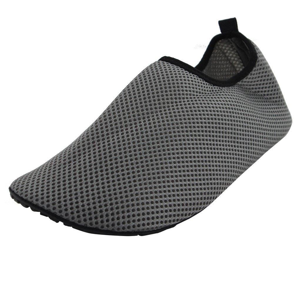 44fd45440c78 Maxu Women s Grey Anti-slippery Slip On Aqua Athletic Water Shoes 6.5M US   Amazon.ca  Shoes   Handbags