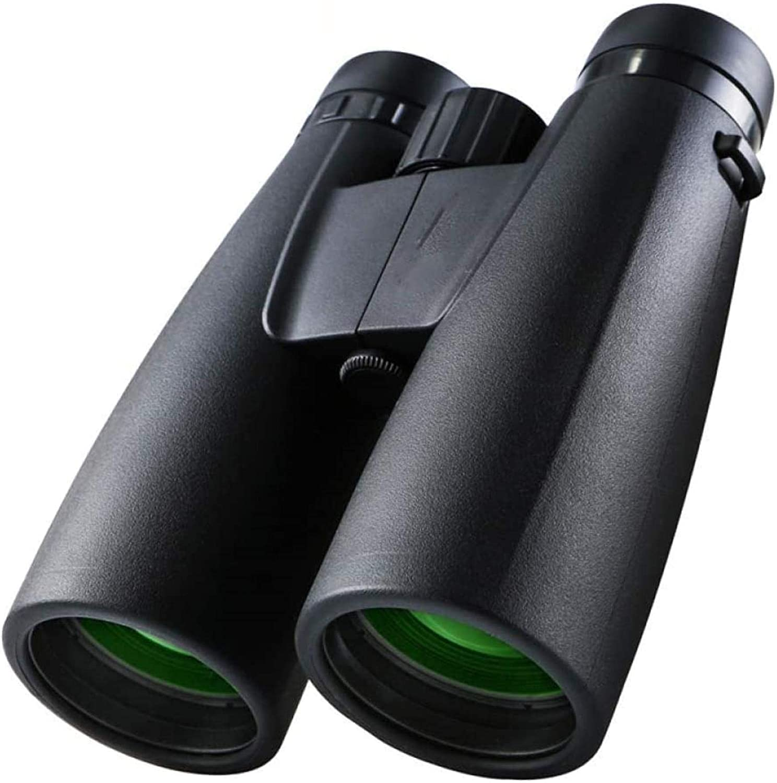 HJTLK Telescopio 12X50 HD Binoculares Telescopio Alcance táctico Binocular de visión Nocturna con Poca luz para observación de Aves