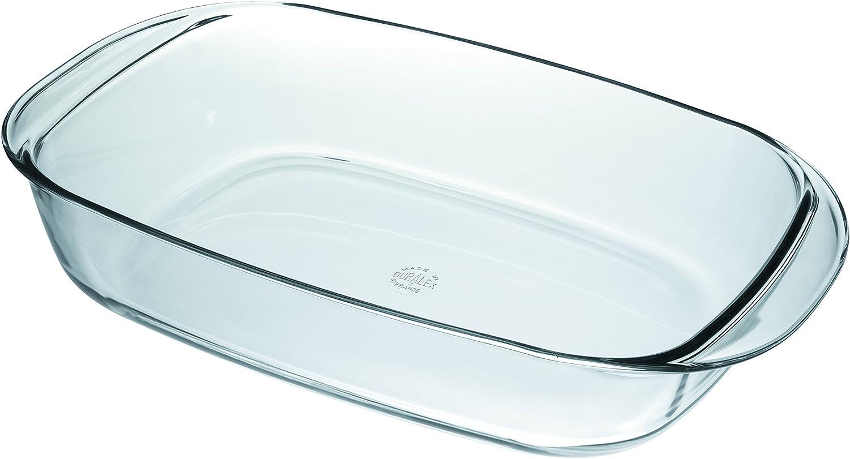 Duralex Ovenchef / 38 x 23cm / 3,75L / Apto para microondas, horno, congelador y lavavajillas / No para plancha eléctrica ni vitrocerámica