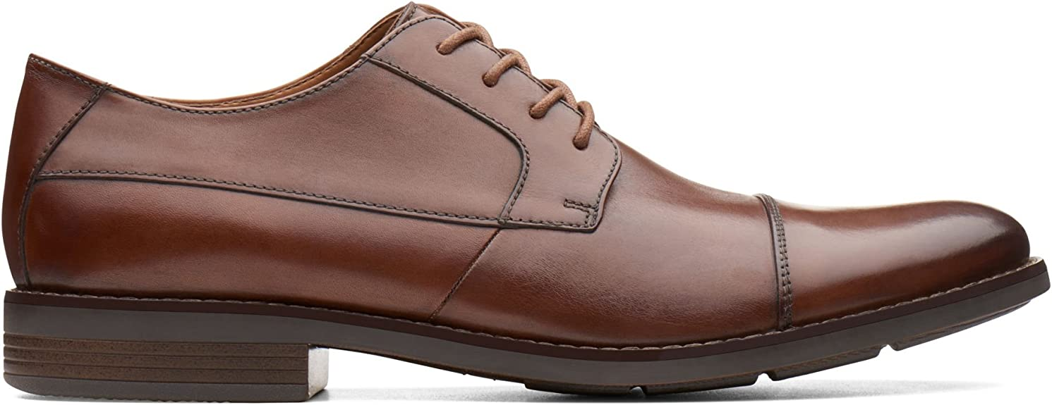 Clarks Becken Cap, Zapatos de Cordones Derby para Hombre