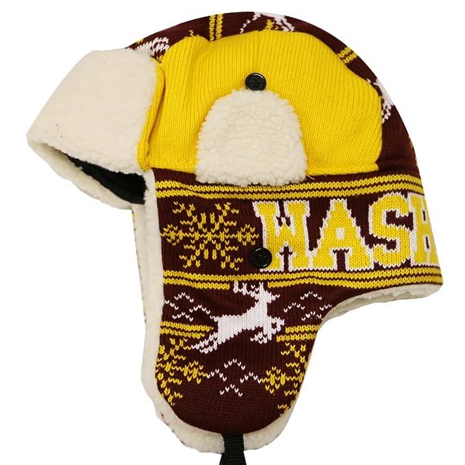 942292579ed8a City Hunter W700 Snow Deer Trapper Hat Washington at Amazon Men s ...