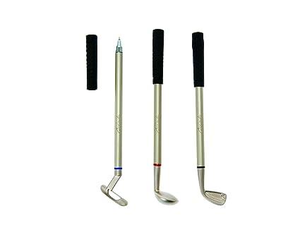 Brink - Bolígrafos con diseño de palos de golf: Amazon.es: Hogar