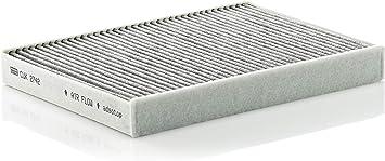Oferta amazon: Original MANN-FILTER Filtro de habitáculo CUK 2742 – Filtro de habitáculo con carbón activo – para automóviles