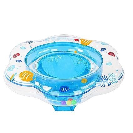 Samione Anillo de natación para bebé, Flotador para bebé con Asiento Ideal para niños Piscina de ...
