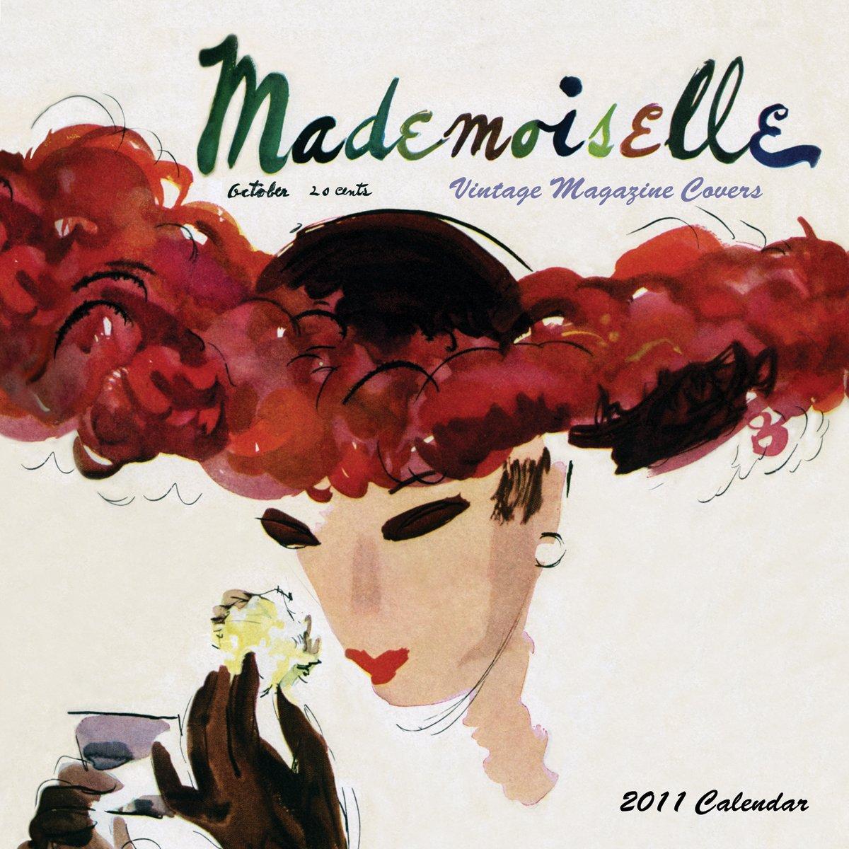 mademoiselle 2011 wall calendar