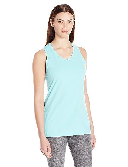 578f710b6cb80 Amazon.com  Champion Women s Double Dry Cotton Tank  Clothing