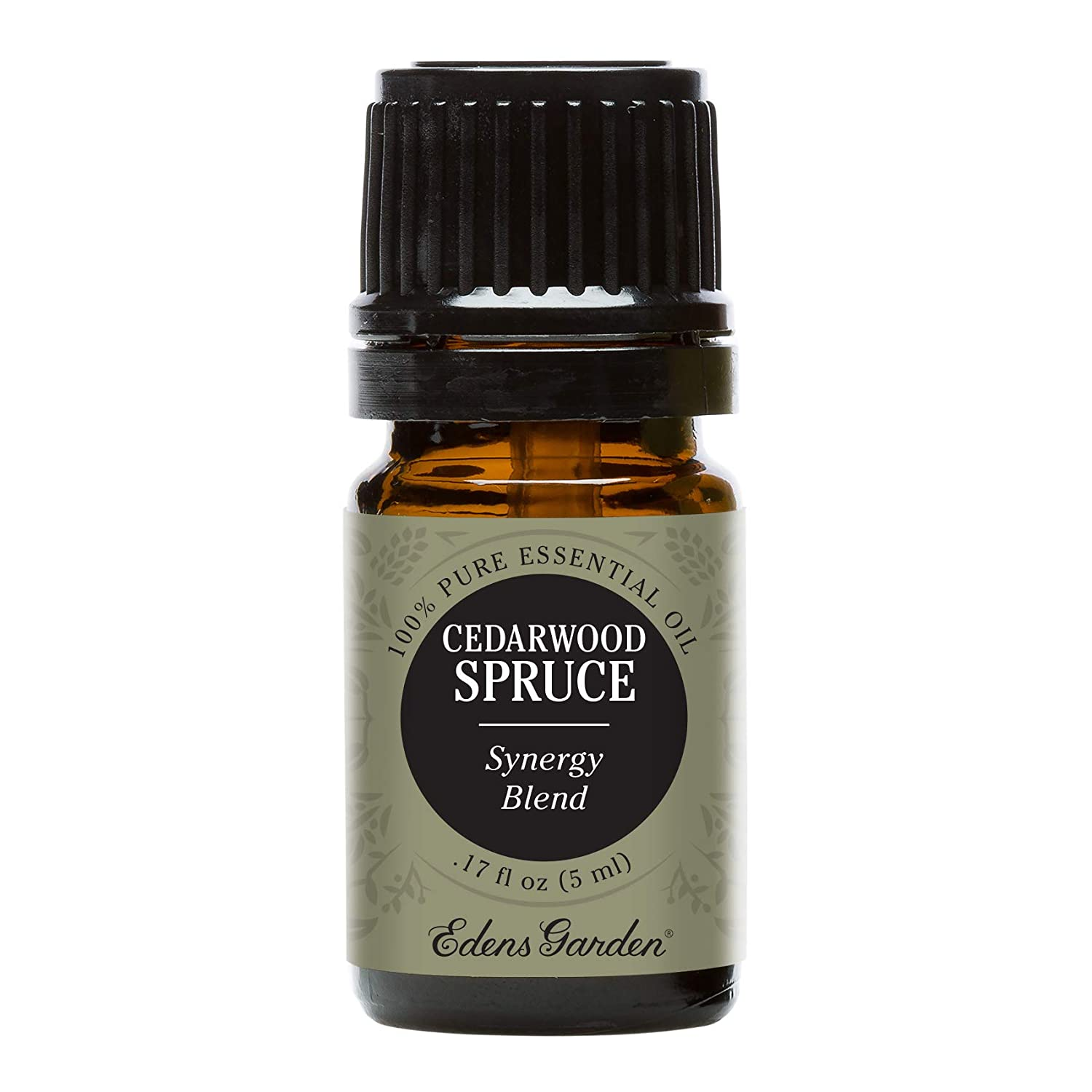 Edens Garden Cedarwood Spruce Essential Oil Synergy Blend, 100% Pure Therapeutic Grade (Cold Flu & Congestion) 5 ml