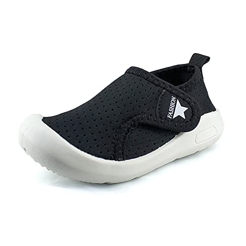 9b245add852b Z-T FUTURE Kids Baby Boy Girl Sneakers - Breathable Mesh Lightweight  Toddler Shoes for Walking Running