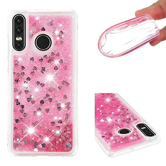 Amazon.com: WVYMX Huawei P30 Lite Back Case, 3D Flowing ...