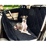 Living Express Waterproof Non-Slip Hammock Design Back Bench Car Seat Cover for Pet Dog