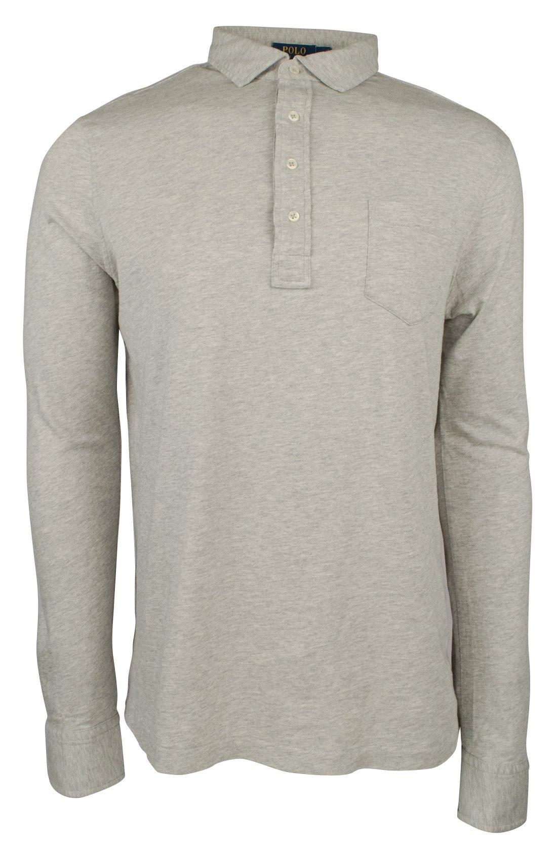 Polo Ralph Lauren Men's Hampton Cotton Jersey Shirt-Sh-M