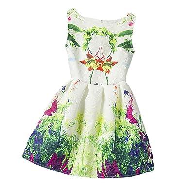 fcc8b4212b Amazon.com  Xaber Kin Girls Summer Dress  Clothing