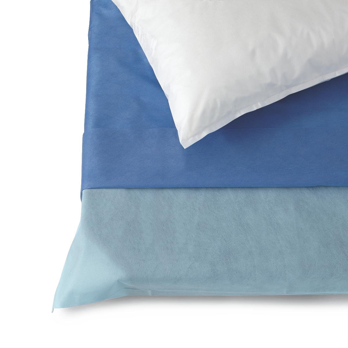 Medline NON37250 Multi-Layer Stretcher Sheet Sets, Blue (Pack of 24)