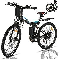 VIVI Bicicleta Electrica Plegable 350W Bicicleta Eléctrica Montaña, Bicicleta Montaña Adulto Bicicleta Electrica…