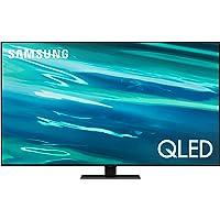 Deals on SAMSUNG QN85Q80AAFXZA 85-In QLED 4K UHD 12x Smart TV w/Alexa
