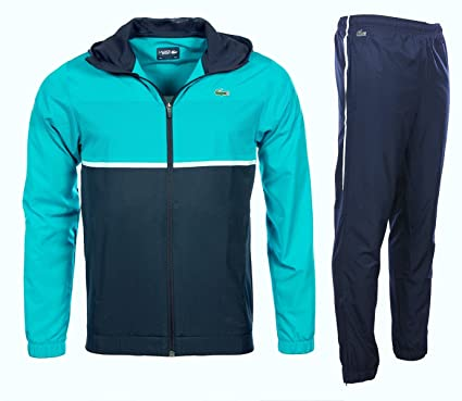 32cc5df754 Lacoste Homme - Ensemble survêtement Turquoise WH2092 - Taille vêtements -  XL