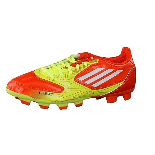 meet 5ff0e 7a4f7 Adidas Performance F5 TRX FG - Scarpe da Calcio Uomo - OrangeYellowWhite