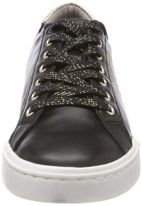 Tamaris Damen Schwarz 23650 Sneaker Schwarz Damen (schwarz 001) 3425d1