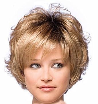 Swig Kurze Welliges Haar Brown Perücke Für Beyonce Haar Art Perücke