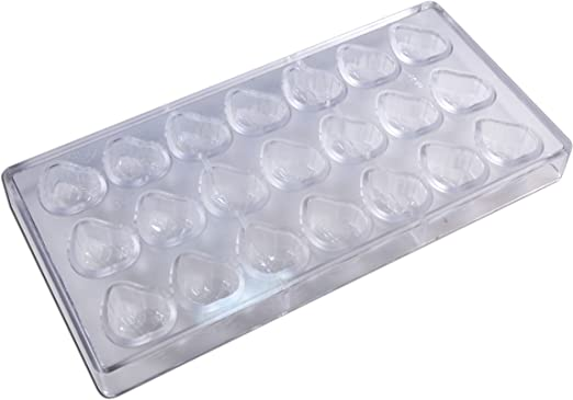 Fat Daddio/'s Polycarbonate Candy Mold Block of 24 Parts 3 Cavities