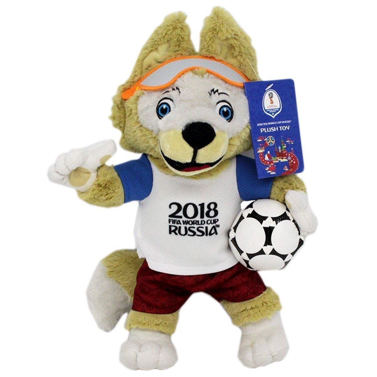FIFA 2018 Russia - Mascotte official Zabivaka - 35 cm Plush ...