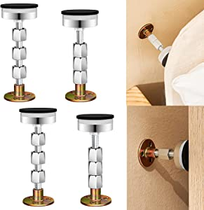 CosyBlve Bed Frame Support,headboard stoppers,Reinforced Multifunctional Furniture Anti-Shake Supporter, Adjustable Headboard Support Tool, for Bed Sofa Bedroom Bathroom,1.7in-4.8in,4PCS