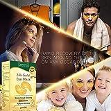 CIDBEST 24k Gold Eye Mask,Collagen Eye Pads,24k