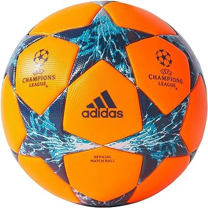 adidas Finale 17 OAP Invierno Match Ball 5 Naranja/Azul: Amazon.es ...