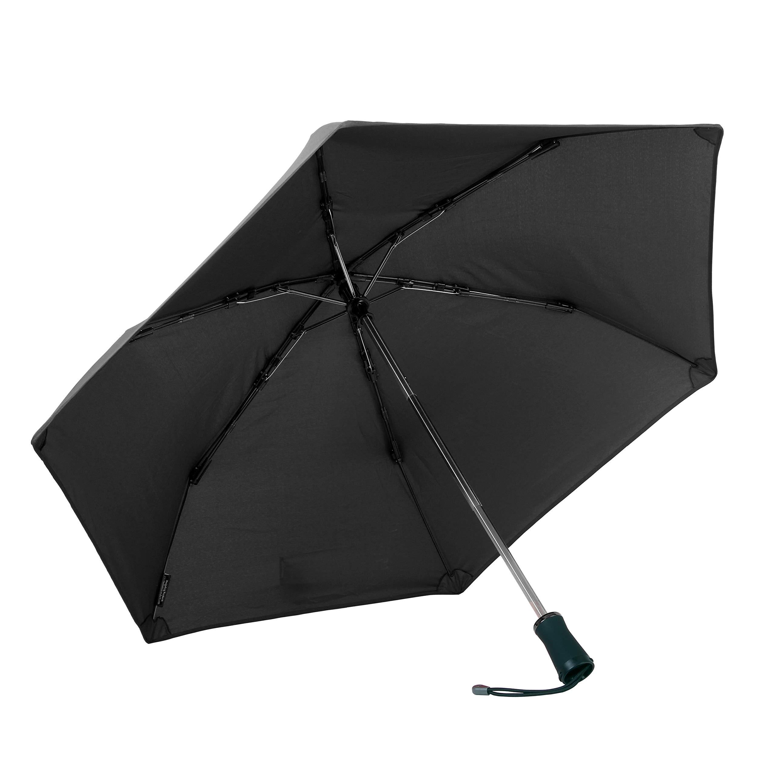 Hedgehog Windproof Umbrella, Classic Black