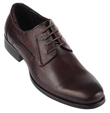 Kenneth Cole capitale le pour homme à lacets Oxford Chaussures - Marron - Brown Smooth Leather  43 EU (9 UK) YGuYS9H,