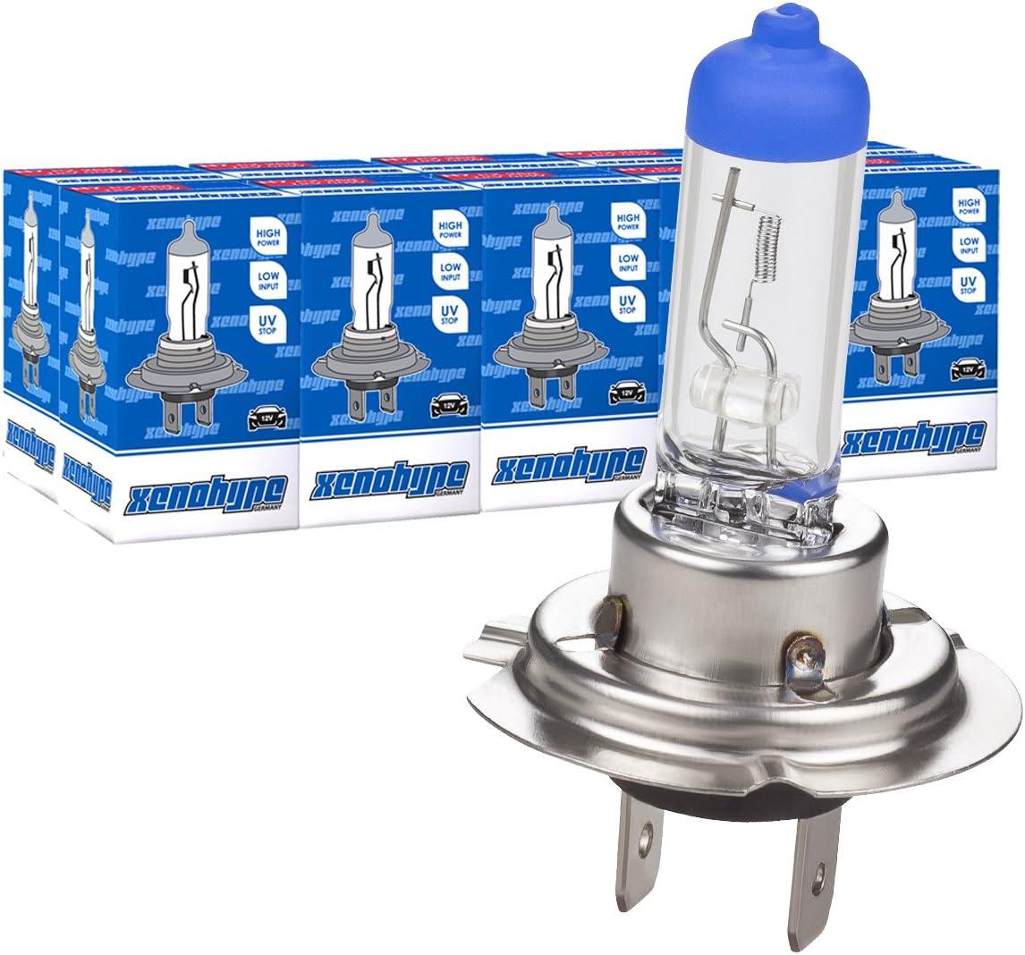 LUMINIZER/® autolampe H7 10x H7 12V 55W HALOGEN LAMPEN scheinwerfer Abblendlicht E1 px26d