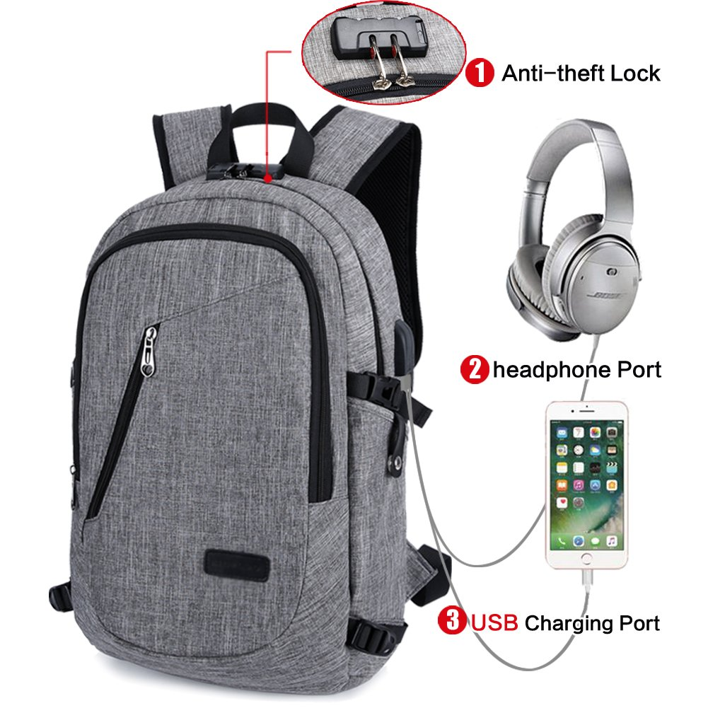 Women, men & Kids CIOR Business Laptop Backpacks Anti-theft Lightweight Travel