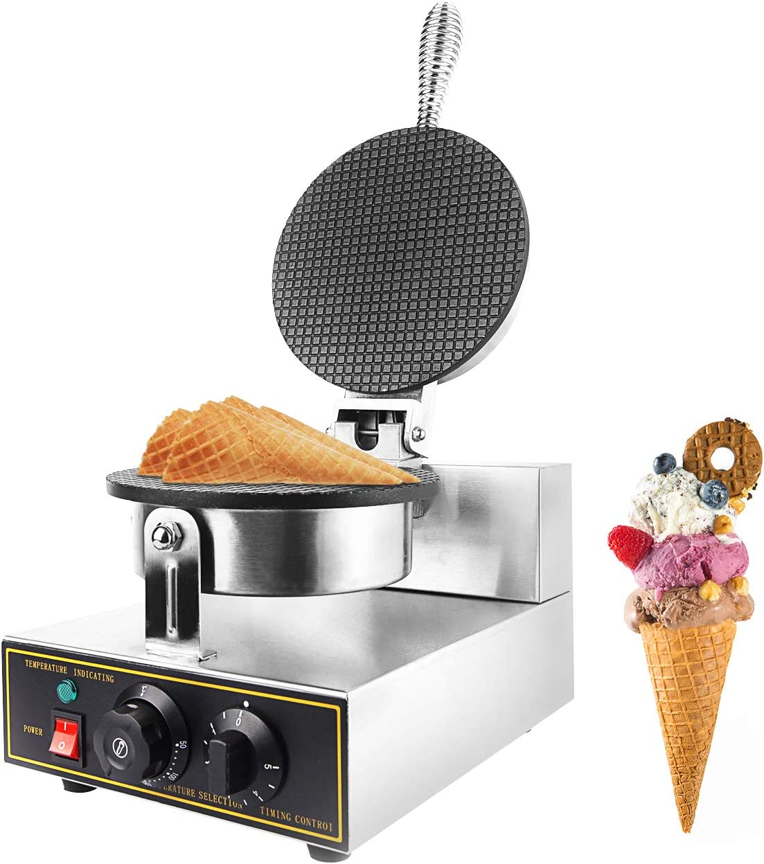 Dyna-Living Non-Stick Waffle Cone Maker