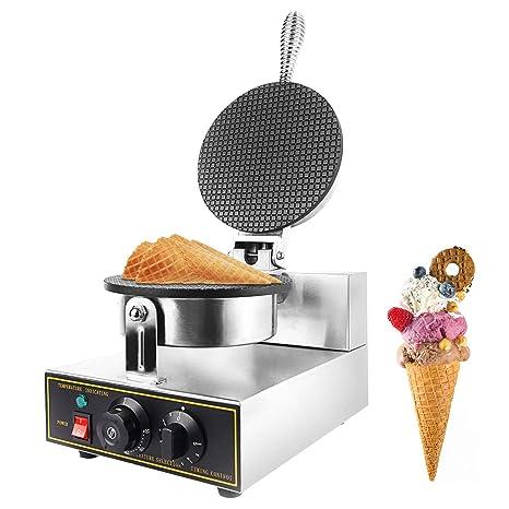 Amazon.com: Máquina de helado Dyna-Living con gofrera ...