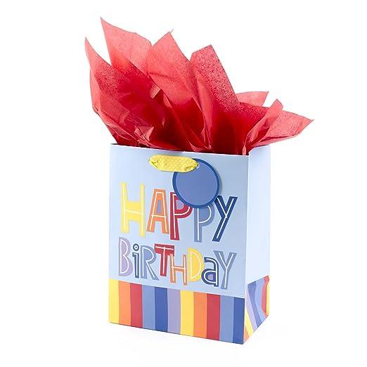 Amazon.com: Hallmark bolsa de regalo de cumpleaños en ...