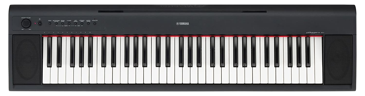 What are the best digital keyboard piano for beginners for Yamaha np11 piaggero