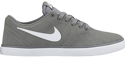 56dfad33551524 Image Unavailable. Image not available for. Colour  Nike SB Check Solar  Cool Grey White Men s Skate Shoes