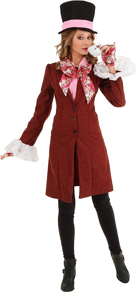 funcostumes Fun Costumes – Disfraz de sombrerero loco de la mujer ...