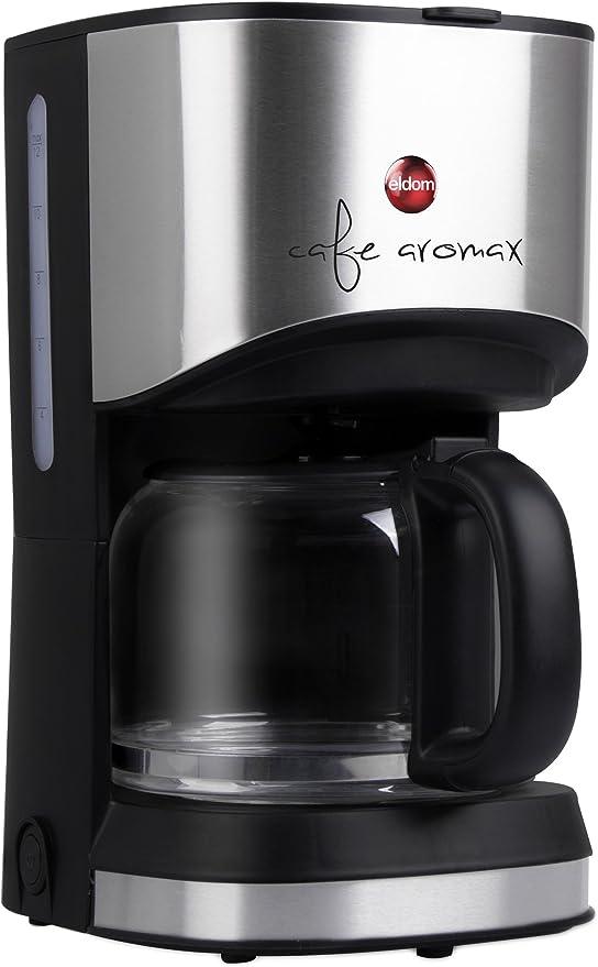 eldom Cafetera Goteo KA30, Máquina de café, 900W Cafetera de ...