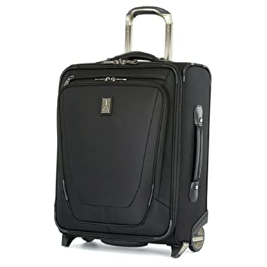 Travelpro Luggage Crew 11 20  Carry-on International Rollaboard w/USB Port, Black