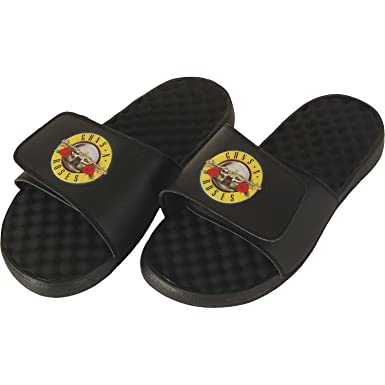 86d7664b12656a Amazon.com  Guns N Roses - Mens Flip Flop Sandals  Clothing