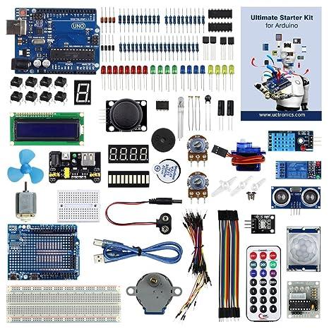 amazon com uctronics advanced starter kit for arduino with rh amazon com