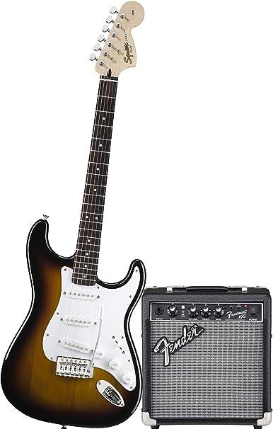 Guitarra Eléctrica Fender Squier Stratocaster Bullet Color Bsb + ...