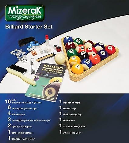 Hathaway Deluxe Billiards Accessory Kit