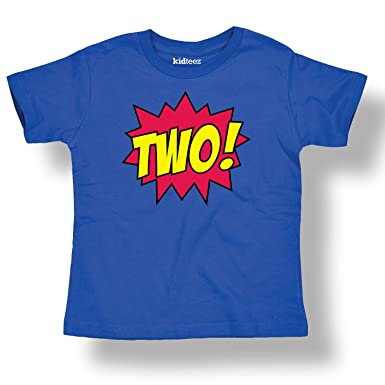 dbd04633 Amazon.com: Instant Message Toddler T Shirt Superhero Birthday Age ...