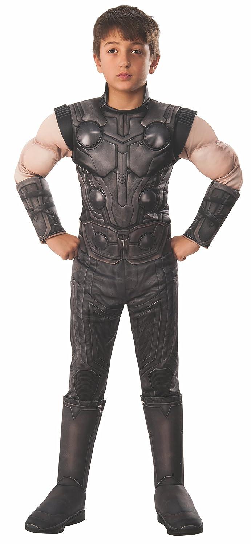 Avengers - Disfraz de Thor Premium oficial para niños, infantil 3-4 años (Rubies 641312-S)