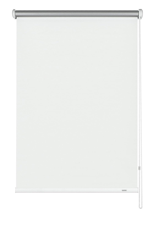 GARDINIA Seitenzug-Rollo mit Thermo-Rückseite, Decken-, Wand- oder Nischenmontage, Höchste Lichtreflektion, Energiesparend, Alle Montage-Teile inklusive, Weiß, 162 x 180 cm (BxH)